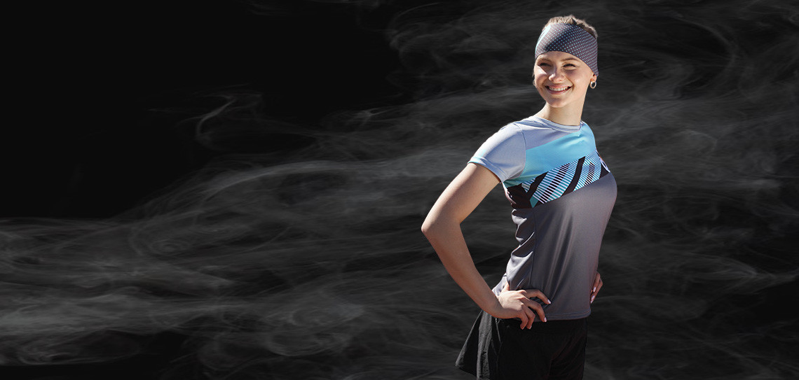Clothes for running, athletics and other sports